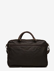 Barbour - Barbour Wax Lth Briefcase - olive - 2