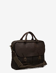 Barbour - Barbour Wax Lth Briefcase - olive - 3