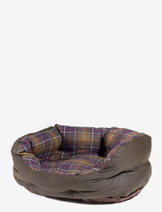 Waxed/Cotton Dog Bed 24in - hundesenge - classic/olive