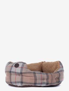 Luxury Dog Bed 24 - koiran pedit - taupe/pink tart