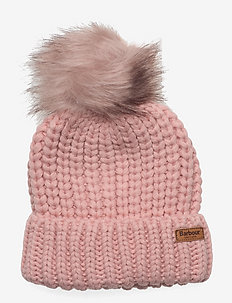 Barbour Girls Saltburn Beanie - beanie - pink