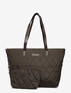 Barbour Witford Q Tote - shopperit - olive
