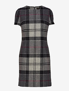 Dee Tartan Dress - midi kjoler - juniper winter