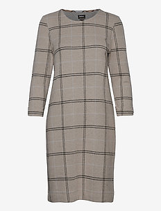 Barbour Findhorn Dress - midi kjoler - oatmeal