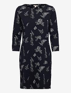Barbour Siskin Print - midi kjoler - navy