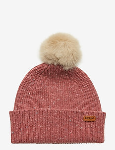 Barbour Foreland Pom Beanie - PINK