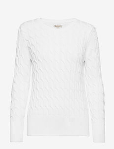 Barbour Lewes Knit - OFF WHITE