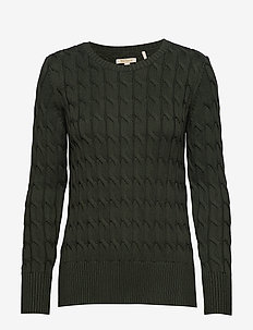 Barbour Lewes Knit - WILDERNESS GREE