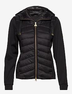B.Intl Spitfire Sweat - dun- & vadderade jackor - black