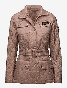 International Quilt - quiltade jackor - pale pink