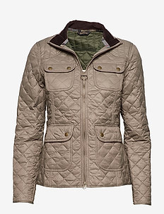 Barbour Bowfell Quilt - TAUPE