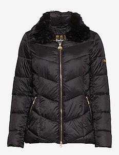 B.Intl Nurburg Quilt - dun- & vadderade jackor - black/black
