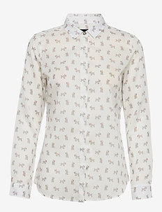 Barbour Greyfriars Shi - OFF/WHITE