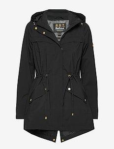 B.Intl Volley Jacket - parkacoats - black