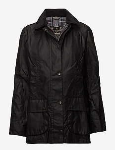 Barbour Beadnell Wax Jacket - kevyet takit - black
