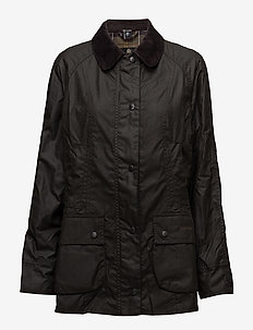 Barbour Classic Beadnell Wax Jacket - kevyet takit - olive