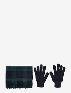 Scarf And Glove Gift Box - BLACK WATCH TAR
