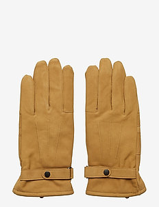 Barbour Leather Thinsulate Gloves - TAN