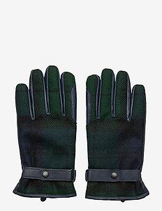 Barbour Newbrough Tartan Glove - BLACK WATCH