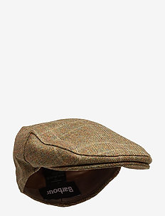 Barbour Crieff Cap - OLIVE/MIXED HER