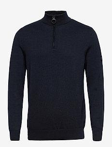 B.Intl Cotton Half Zip - half zip-tröjor - international navy