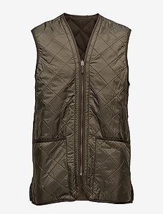 Polarquilt Waistcoat/Zip-In Liner - OLIVE