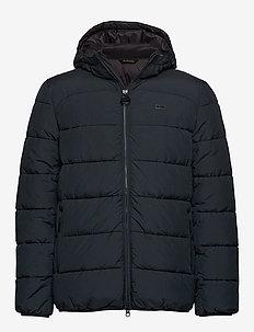 B.Intl Court Quilt - fodrade jackor - black