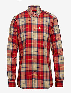 Barbour Toward L/S Shirt - RED