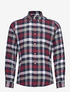 Barbour Ctry Chk 5 TF - rutede skjorter - crimson