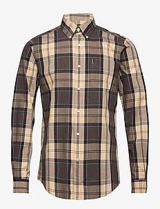 Barbour Sandwood Shirt - ruutupaidat - stone