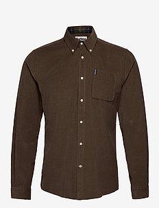 Barbour Cord 2 Tailore - basic skjorter - brown