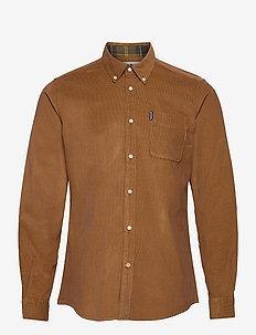 Barbour Cord 2 Tailore - basic skjorter - sandstone