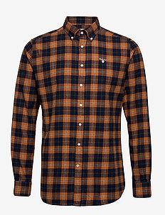 Barbour High Chk 36 TF - ternede skjorter - gold