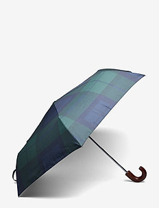 Barbour Tartan Mini Umbrella - BLACK WATCH