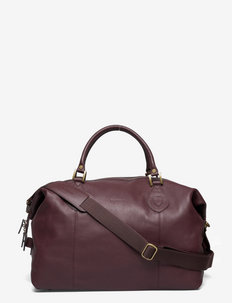 Barbour Lth Med Travel Explorer - BROWN