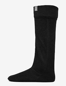 Fleece Wellington Sock - BLACK