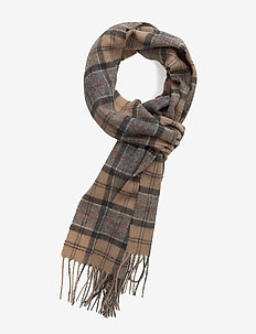 Tartan Lambswool Scarf - skjerf - dress tartan