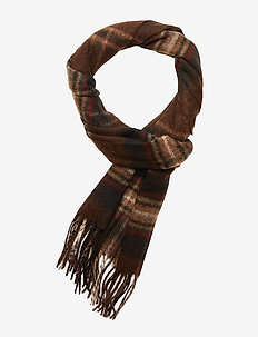 Barbour Rothwell Scarf - RUST/BROWN