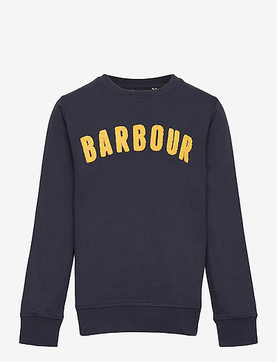 Barbour b Prep Logo cr - sweatshirts - navy
