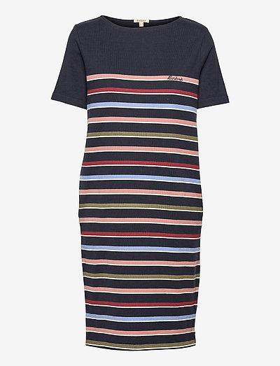 Barbour Hawkins Dress - sommerkjoler - navy stripe
