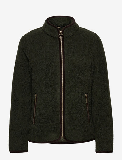 Barbour Laven Fleece - midlayer-jakker - olive/classic