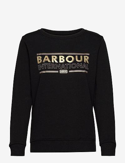 B.Intl Picton Overlay - sweatshirts - black