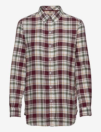 Barbour Kingham Shirt - langærmede skjorter - cloud check