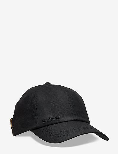 Barbour Wax Sports Cap - kepsar - black