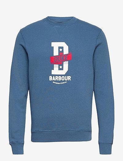 B.Intl Famous Duke Sw - tøj - mid blue