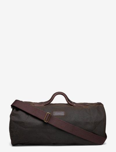 Barbour Wax Holdall - väskor - olive