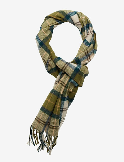 Tartan Lambswool Scarf - halstørklæder - ancient tartan
