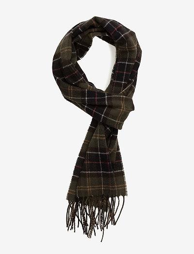 Tartan Lambswool Scarf - halstørklæder - classic tartan