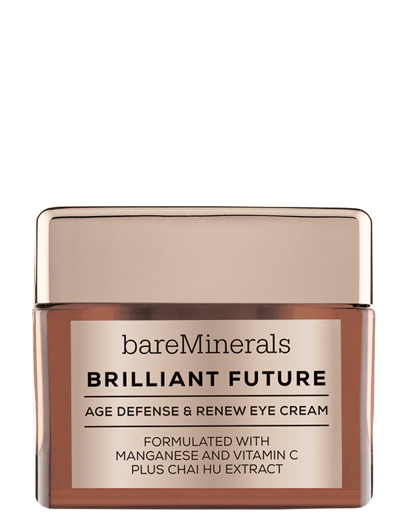 Image of Brilliant Future Age Defense And Renew Eye Cream Hudpleje Ansigtspleje Nude BareMinerals (3292374995)