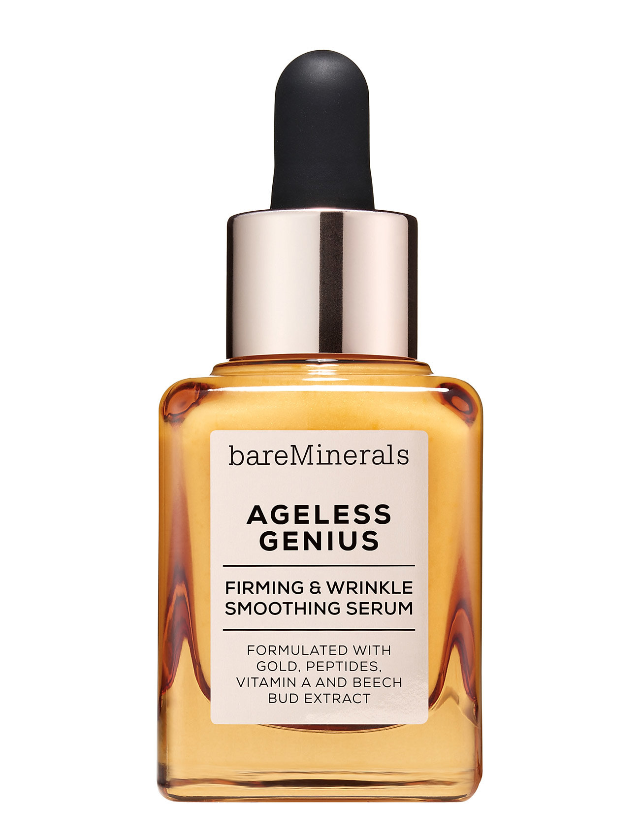 Image of Ageless Genius Firming & Wrinkle Smoothing Serum Serum Ansigtspleje Nude BareMinerals (3427782043)